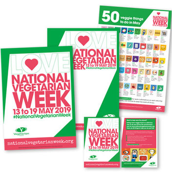 Free National Vegetarian Week 2019 packs