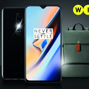 Win a OnePlus 6T smartphone & explorer backpack