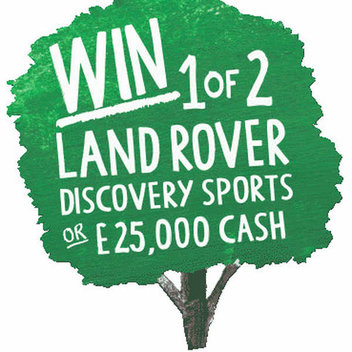 Win 1 of 2 Landrovers, & freebies from Fat Face