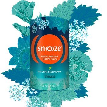 Sample Snooze natural sleep drink for free