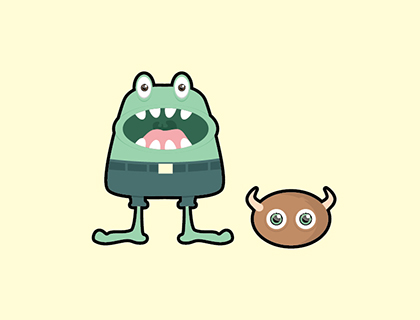 Free Monster Characters