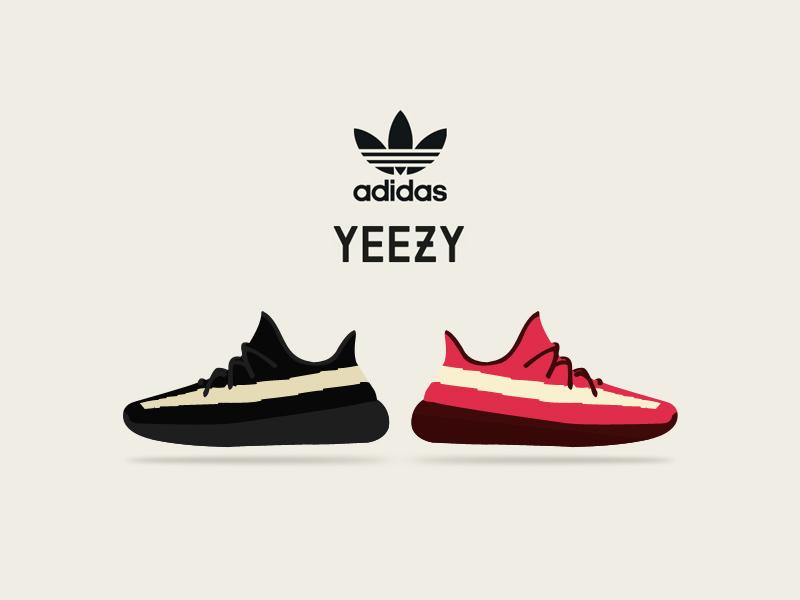 adidas yeezy font