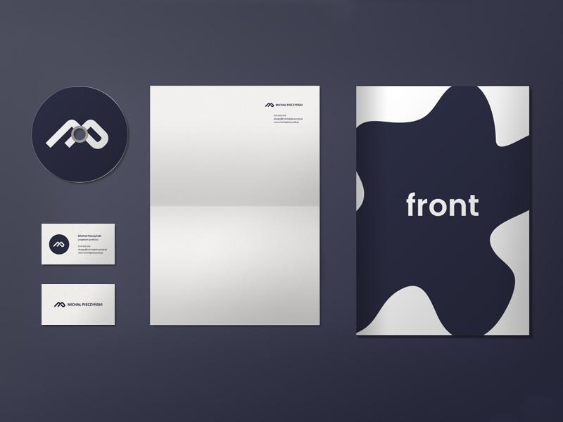 Basic Stationery Mockup: Free PSD