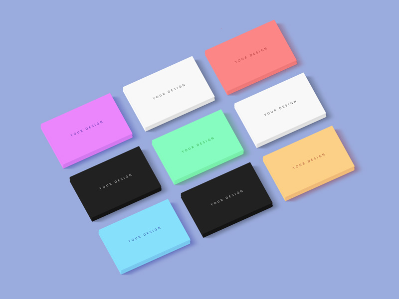 Business Card Mockup by Anton Zhavoronkov - Freebie Supply