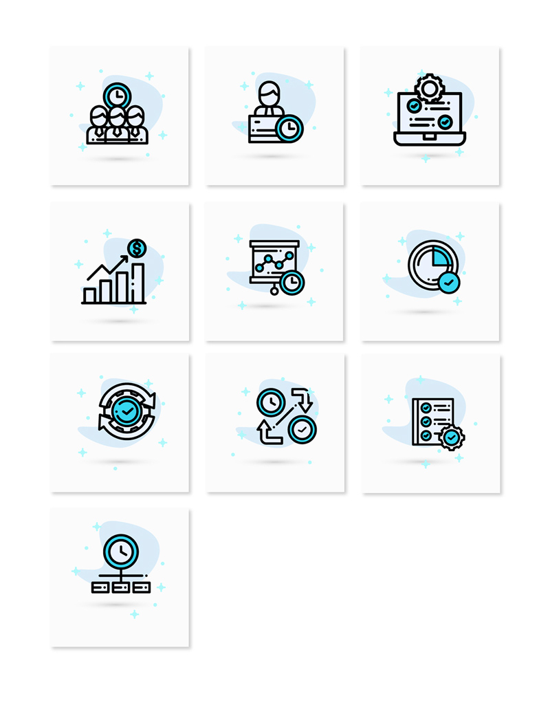 Business Card Icons - Freebie Supply
