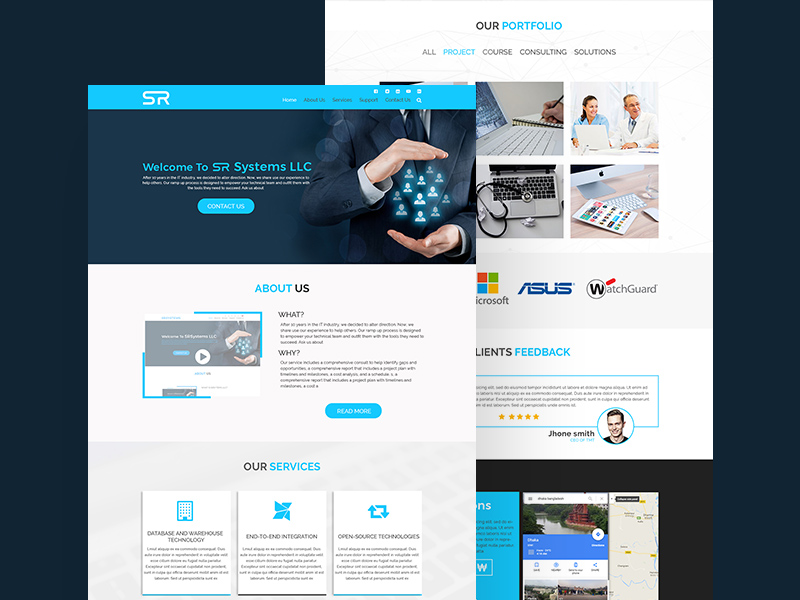 Business website template free psd freebie supply business website template free psd wajeb Choice Image