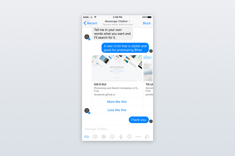 Facebook messenger ui kit for chatbots sketch freebie freebie facebook messenger ui kit for chatbots sketch freebie pronofoot35fo Images