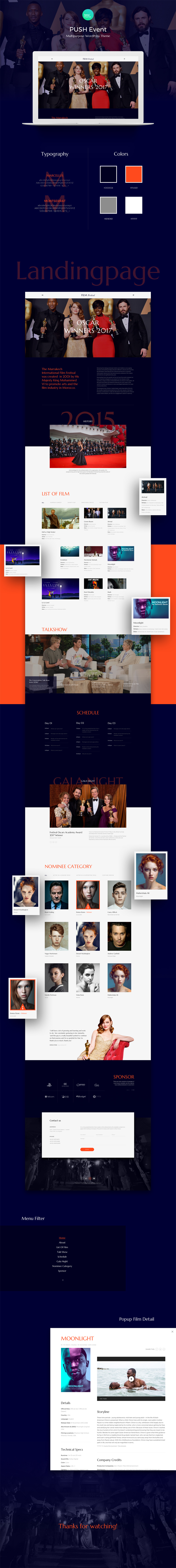 Ausgezeichnet Film Website Vorlage Galerie - Entry Level Resume ...