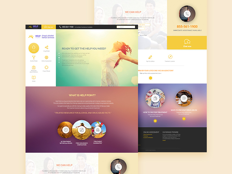 Help Point Website Template PSD Freebie Supply - What is a website template