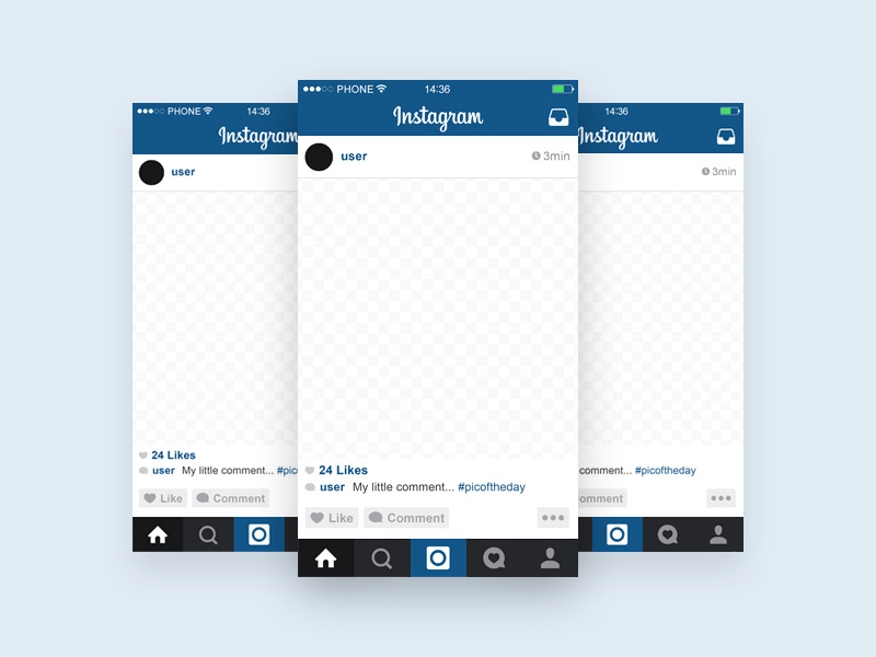 instagram template mockup – Search Results – Freebie Supply