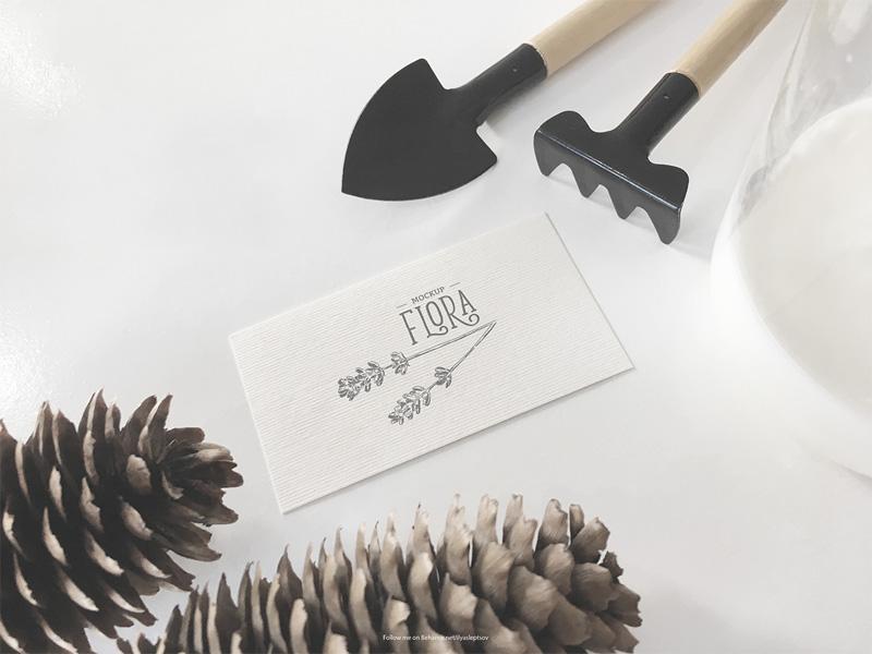 Invitation card mockup psd freebie supply invitation card mockup psd stopboris Image collections