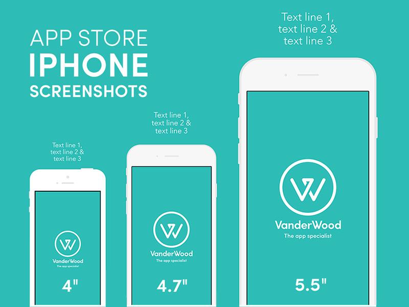 app store screenshot template - iphone app store screenshot mockup free psd freebie supply