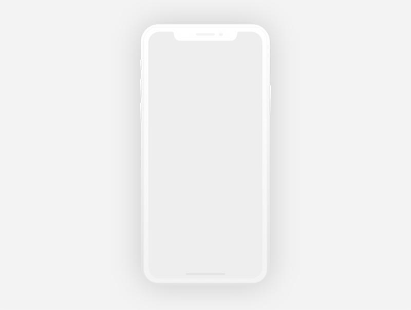 Flat Iphone X