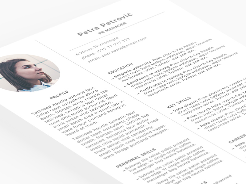 Gallery Of Production And Data Analysis Free Creative Resume