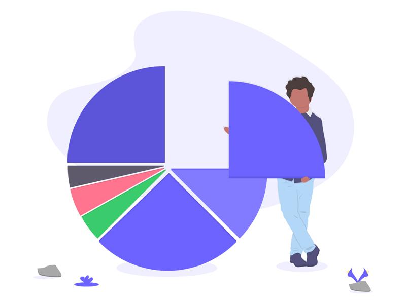 Pie Chart Svg Illustration Freebie Supply
