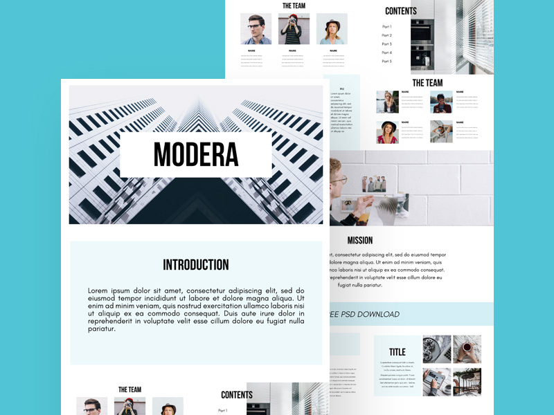 presentation templates: free psd - freebie supply, Presentation templates