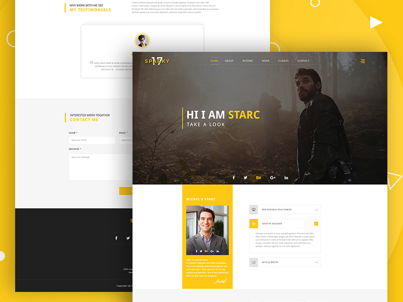 Sparky17 multipurpose business agency personal portfolio template sparky17 multipurpose business agency personal portfolio template psd maxwellsz
