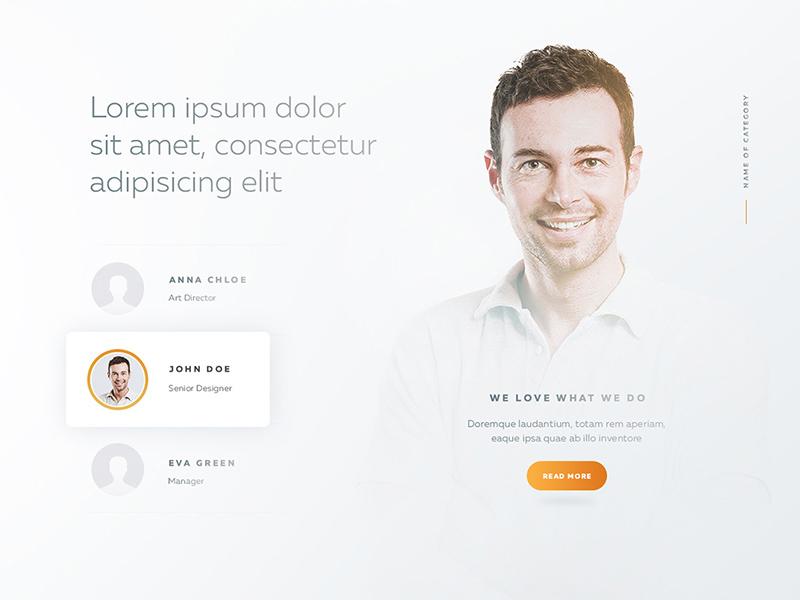 Team Page Template - Free PSD - Freebie Supply