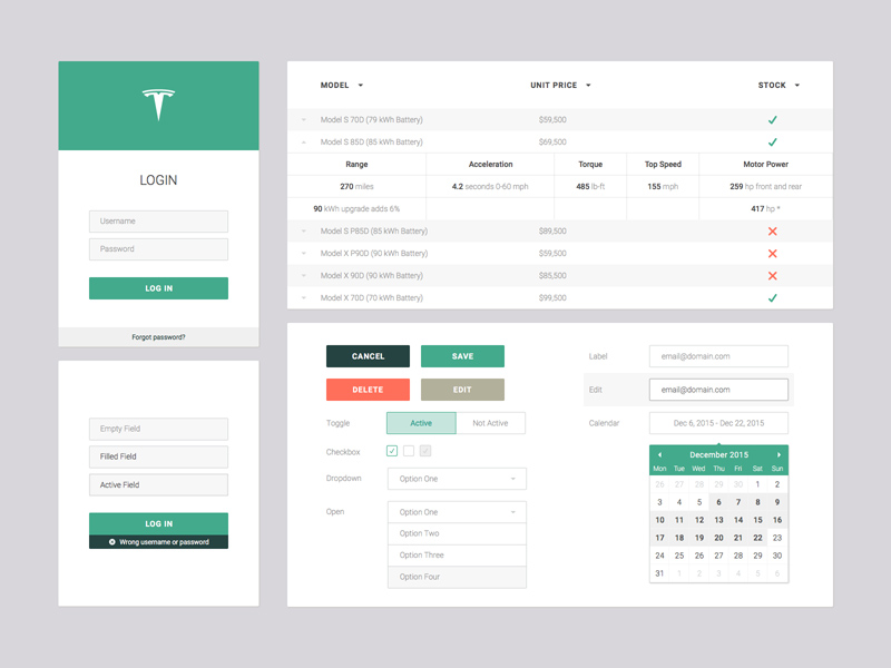 web app ui kit sketch freebie freebie supply