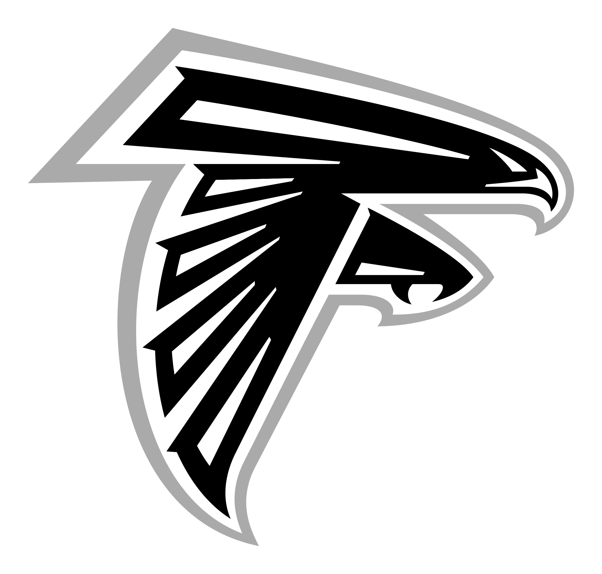 Atlanta Falcons Logo Png Transparent Svg Vector Freebie Supply
