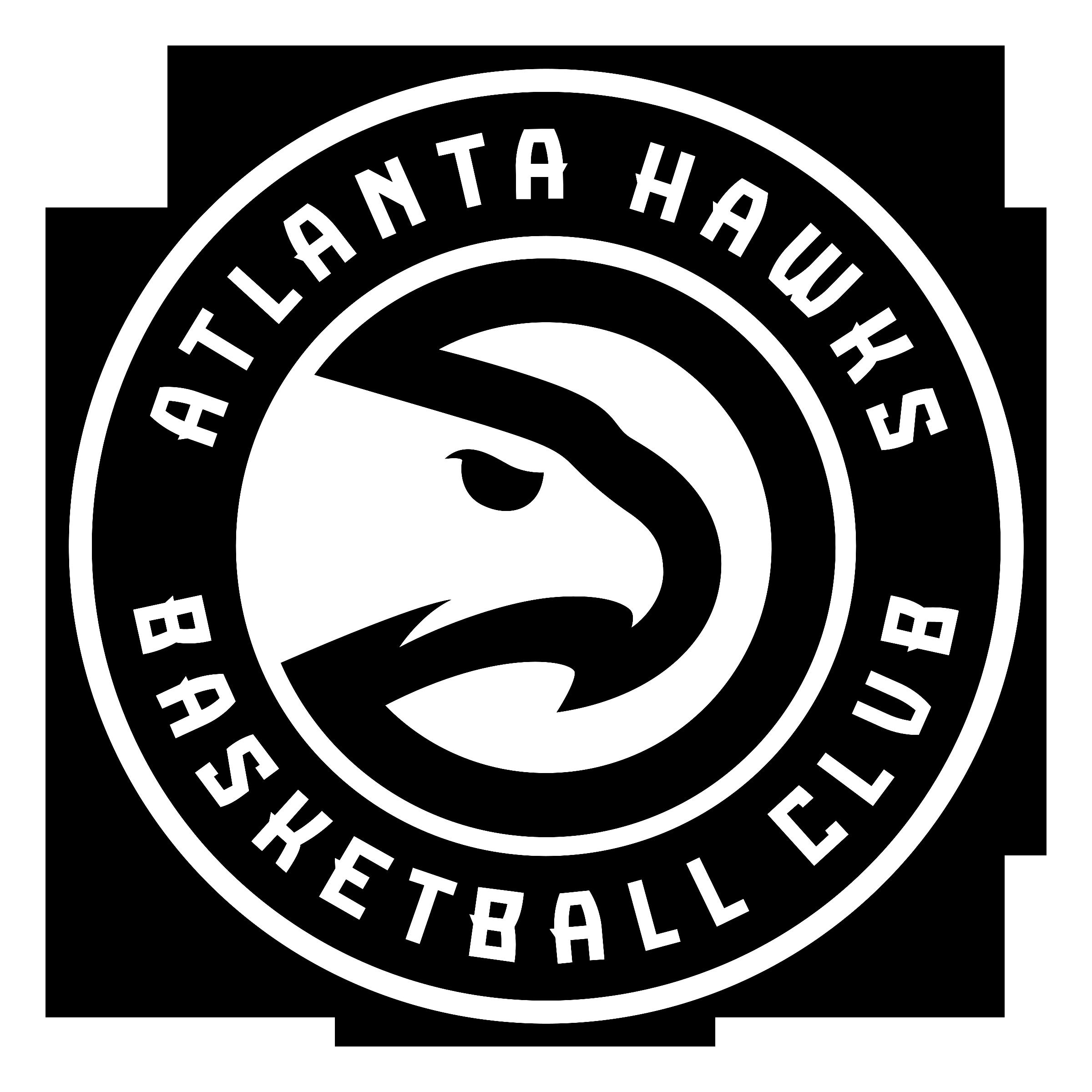 Atlanta Falcons Colors Red >> Atlanta Hawks Logo PNG Transparent & SVG Vector - Freebie Supply