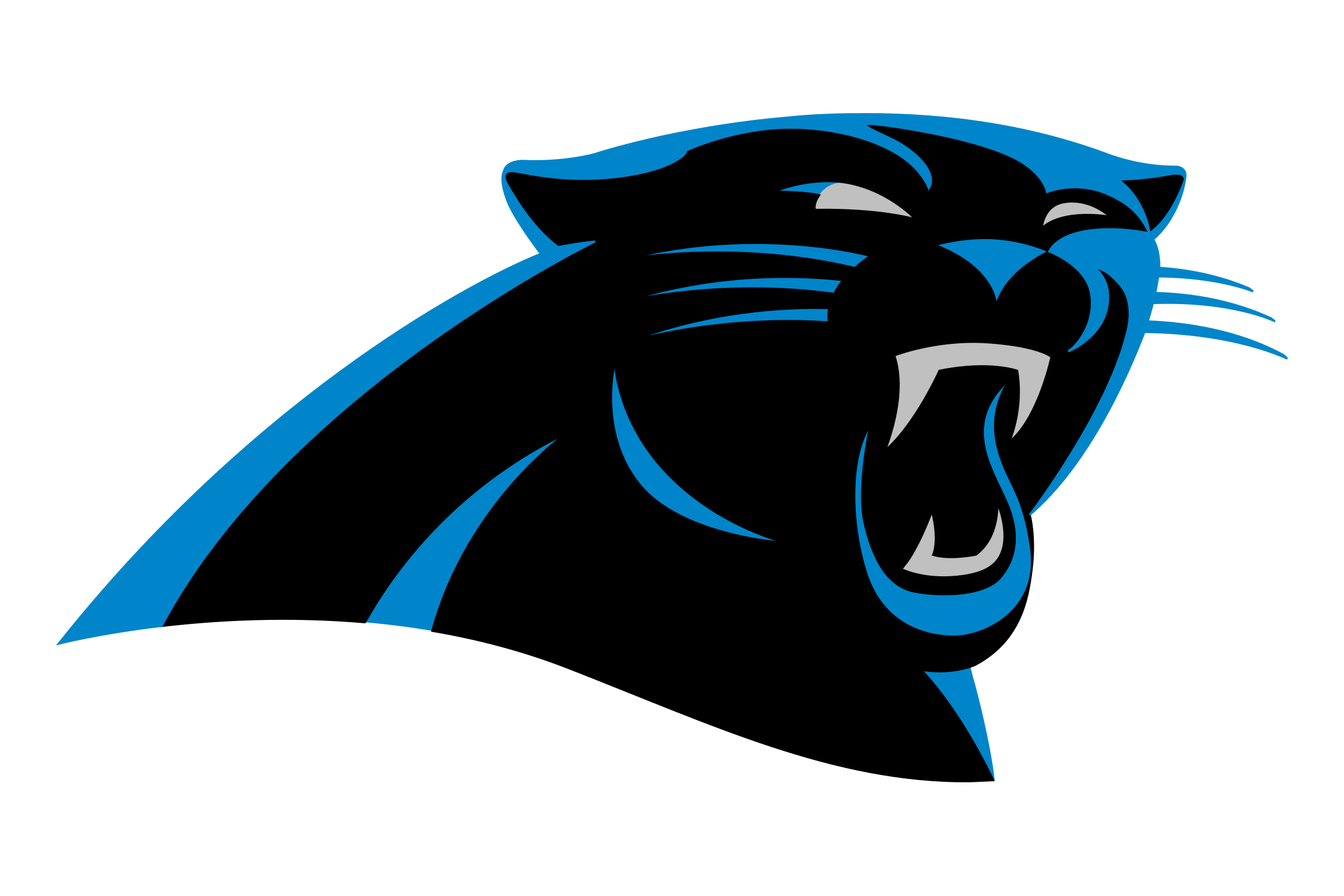 carolina panthers logo png transparent svg vector freebie supply rh freebiesupply com panther logo clipart panther logo pictures