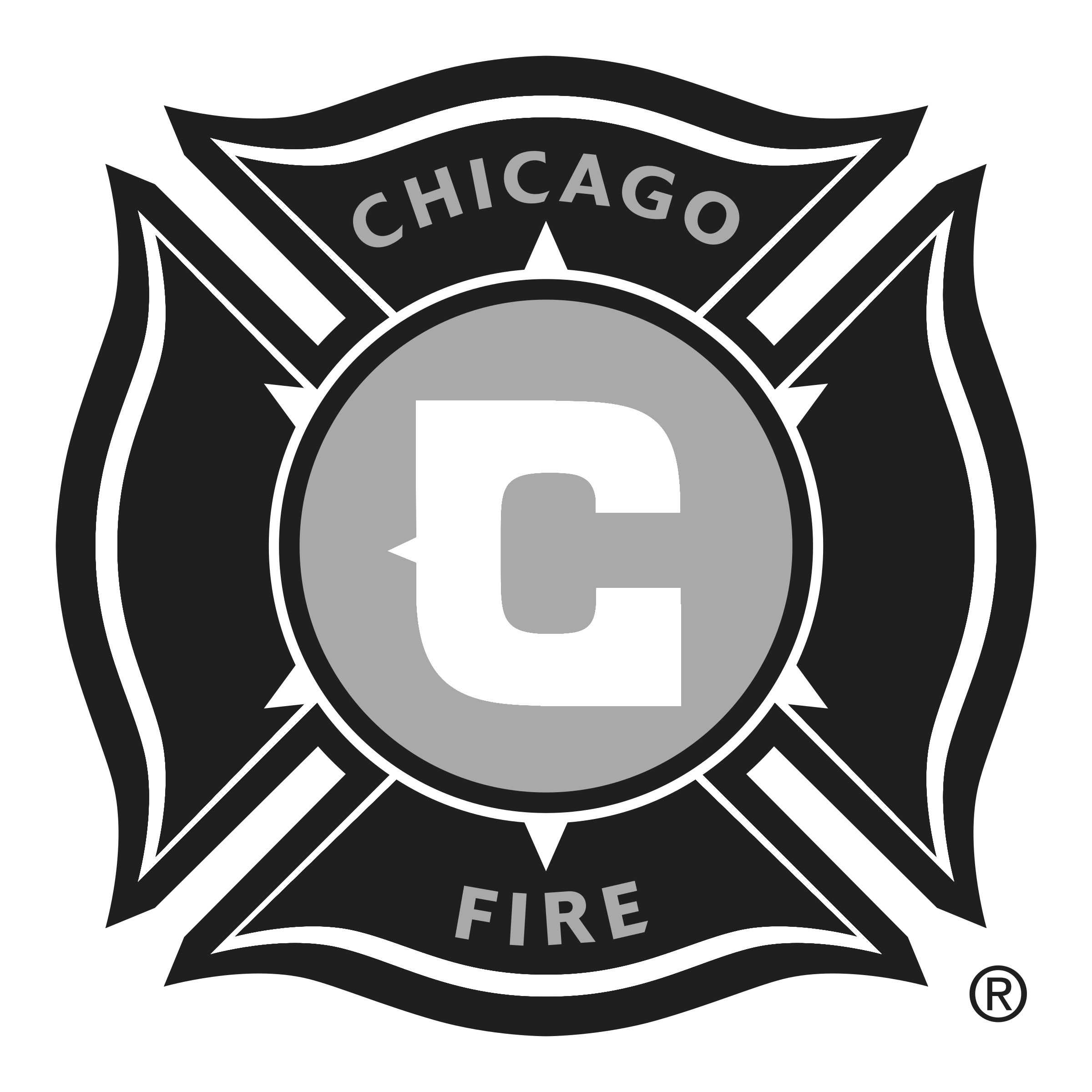 Chicago fire soccer club logo png transparent svg vector chicago fire soccer club logo black and white biocorpaavc Images