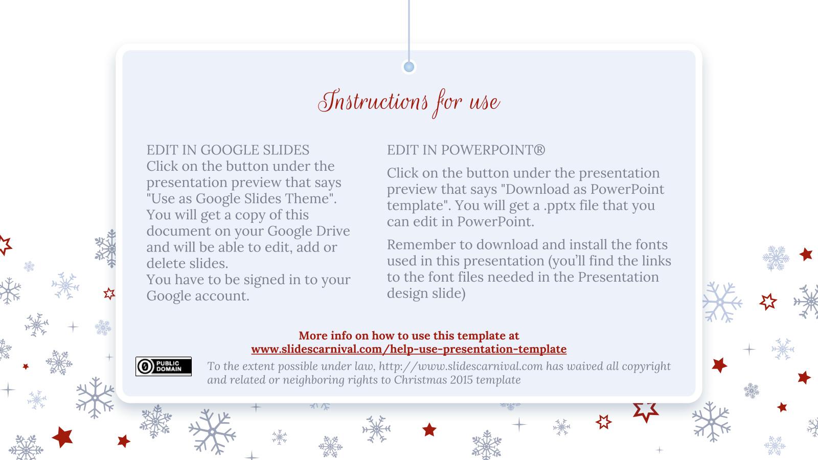 christmas 2017 free powerpoint template google slides theme