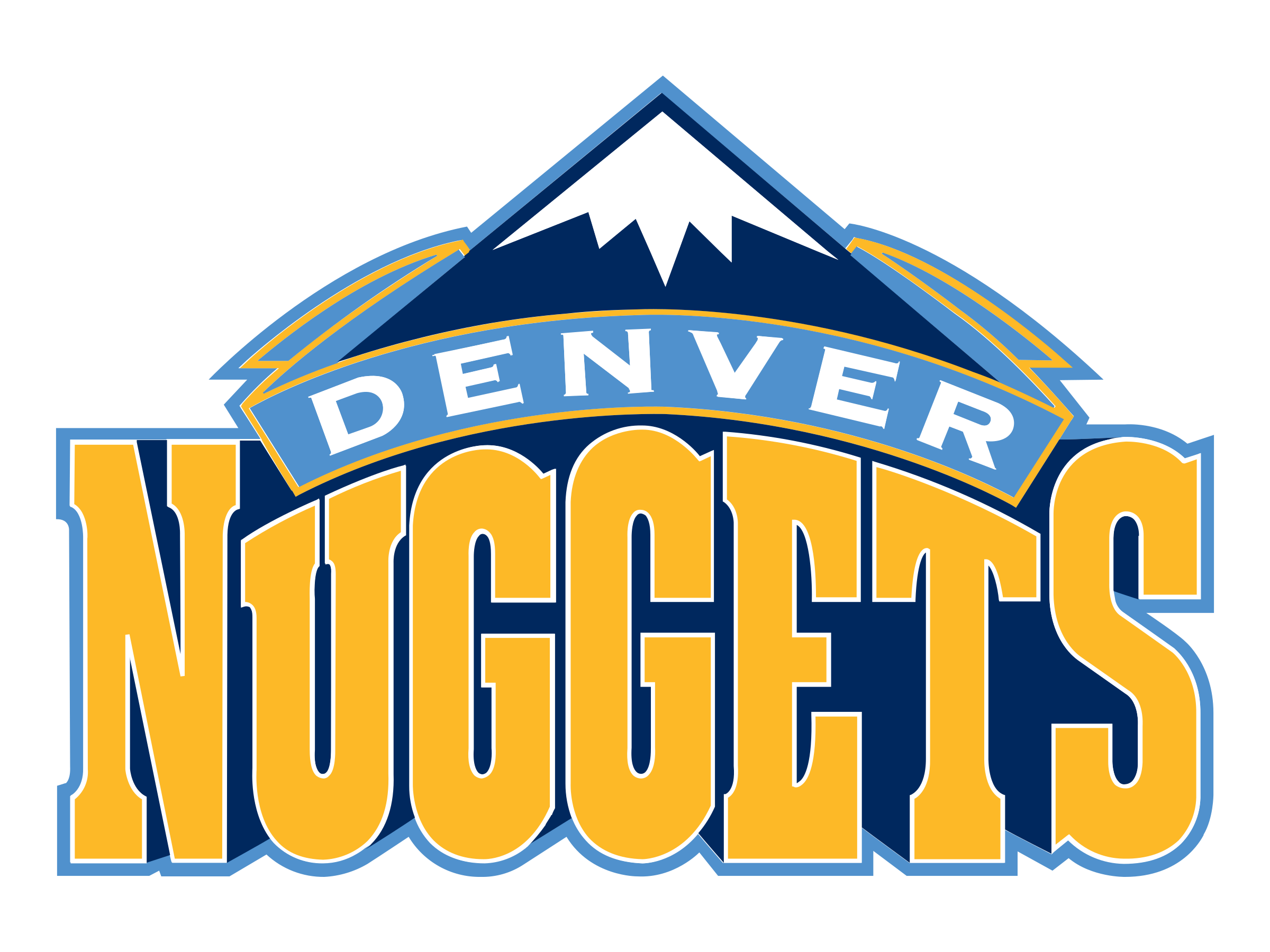 Image result for logo denver nuggets