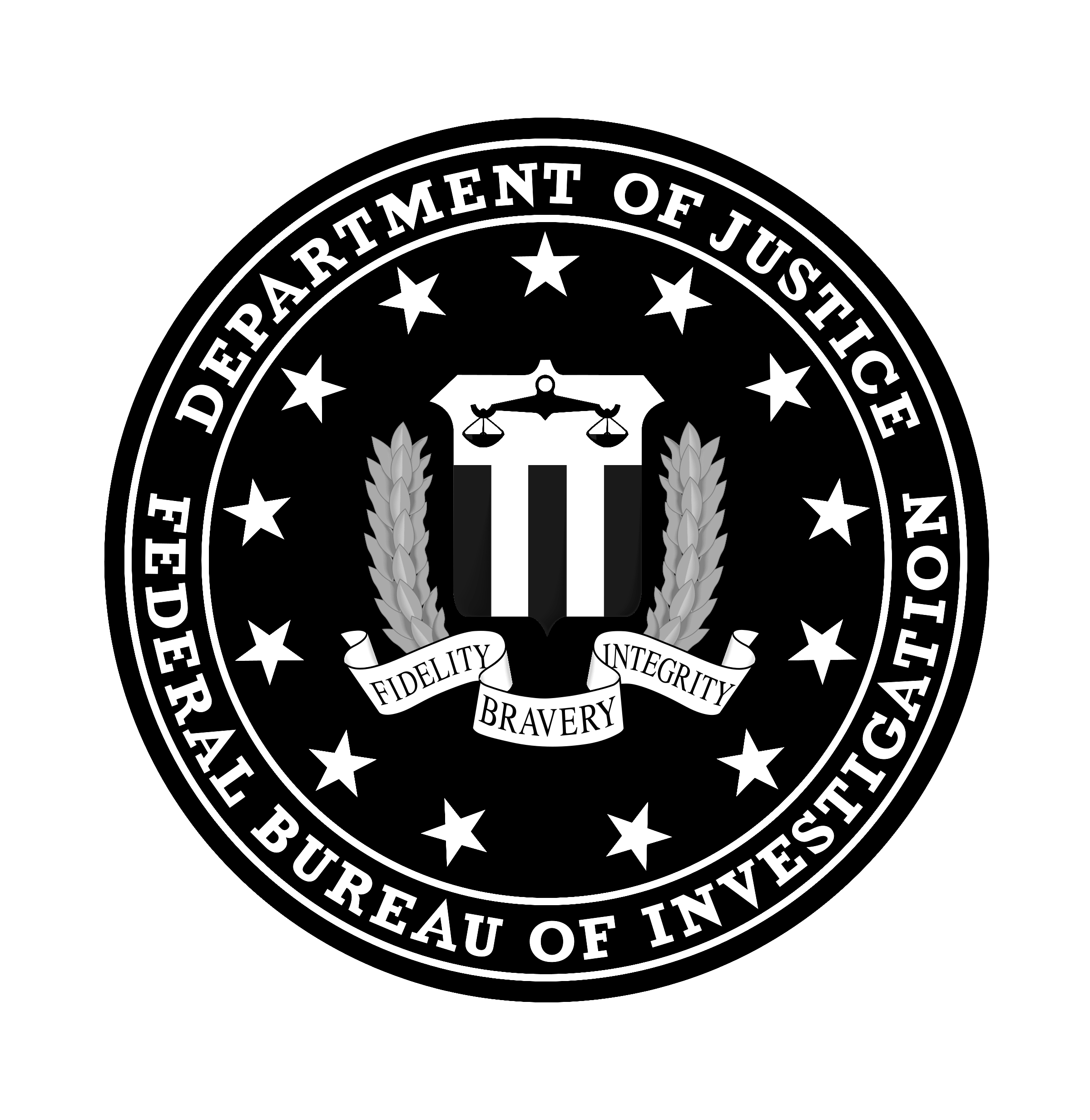federal bureau of investigation logo png transparent svg. Black Bedroom Furniture Sets. Home Design Ideas
