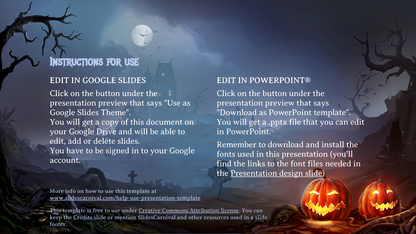 Halloween 2017 free powerpoint template google slides theme halloween 2017 free powerpoint template google slides theme slide 3 toneelgroepblik Images