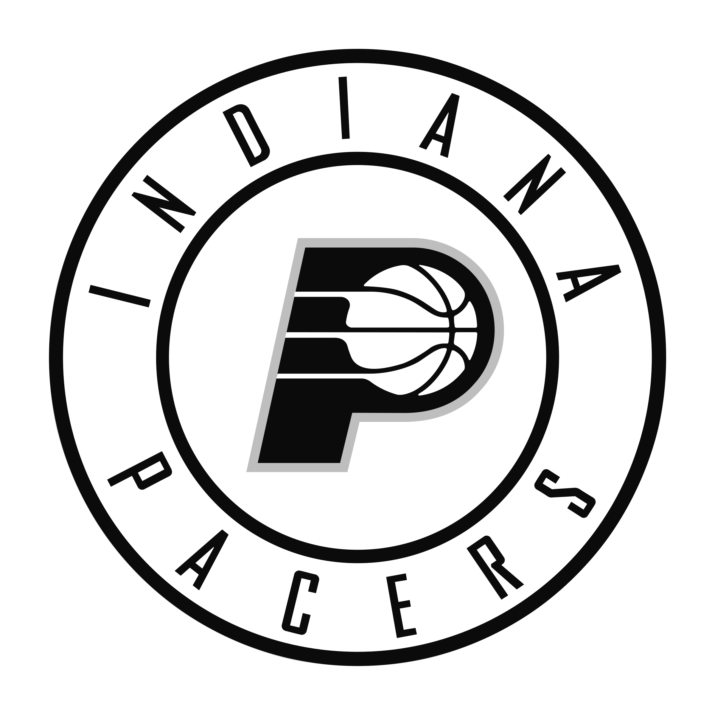 Indiana pacers logo png transparent svg vector freebie supply indiana pacers logo black and white voltagebd Gallery