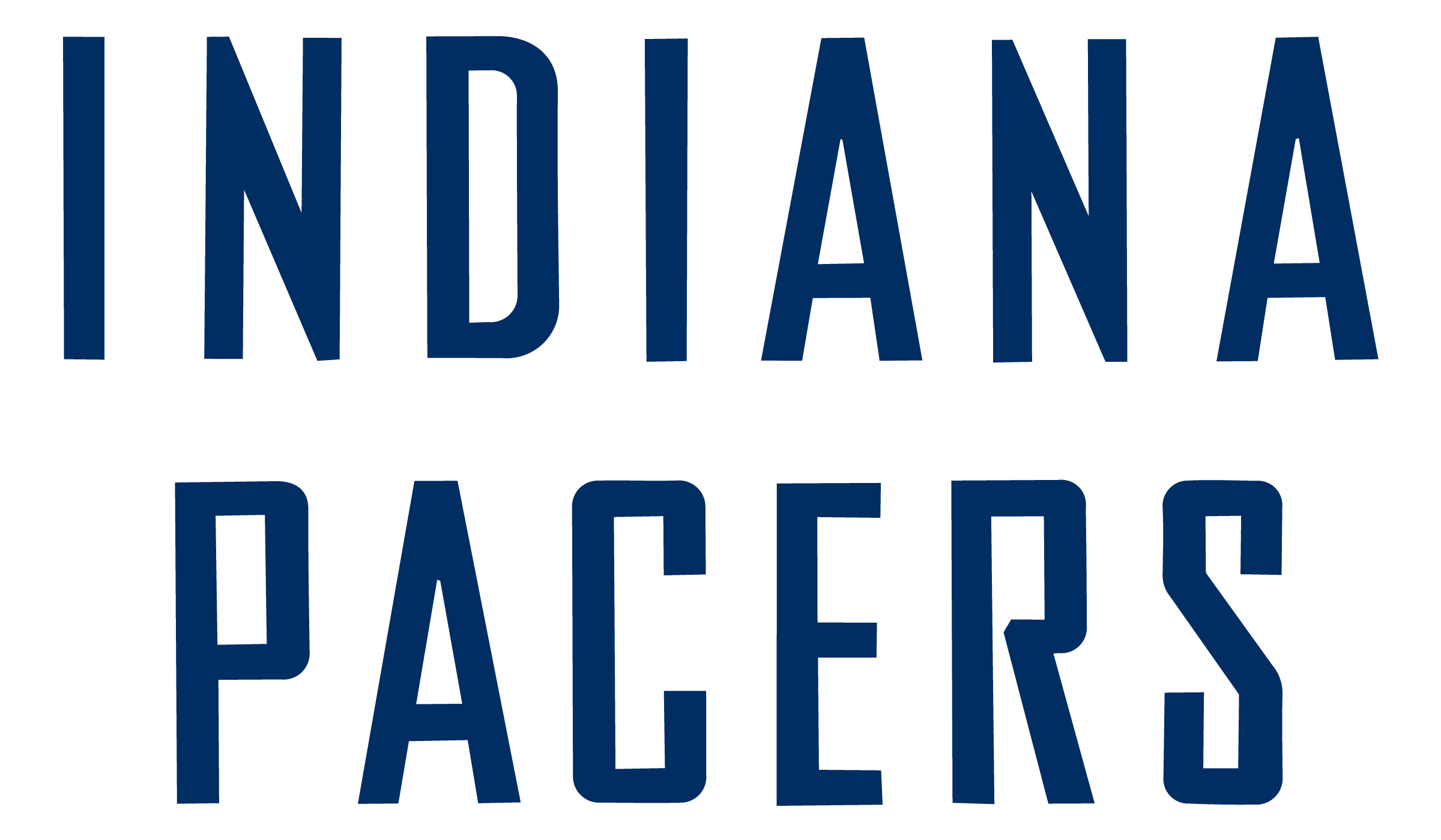 Indiana pacers logo png transparent svg vector freebie supply indiana pacers logo font voltagebd Gallery