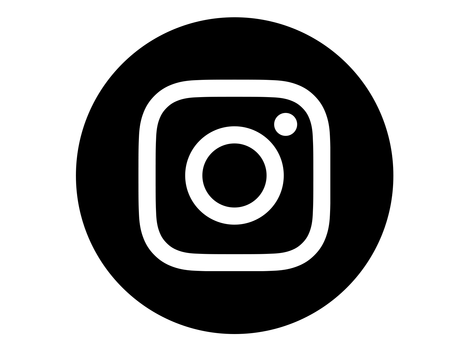 logo instagram black vector