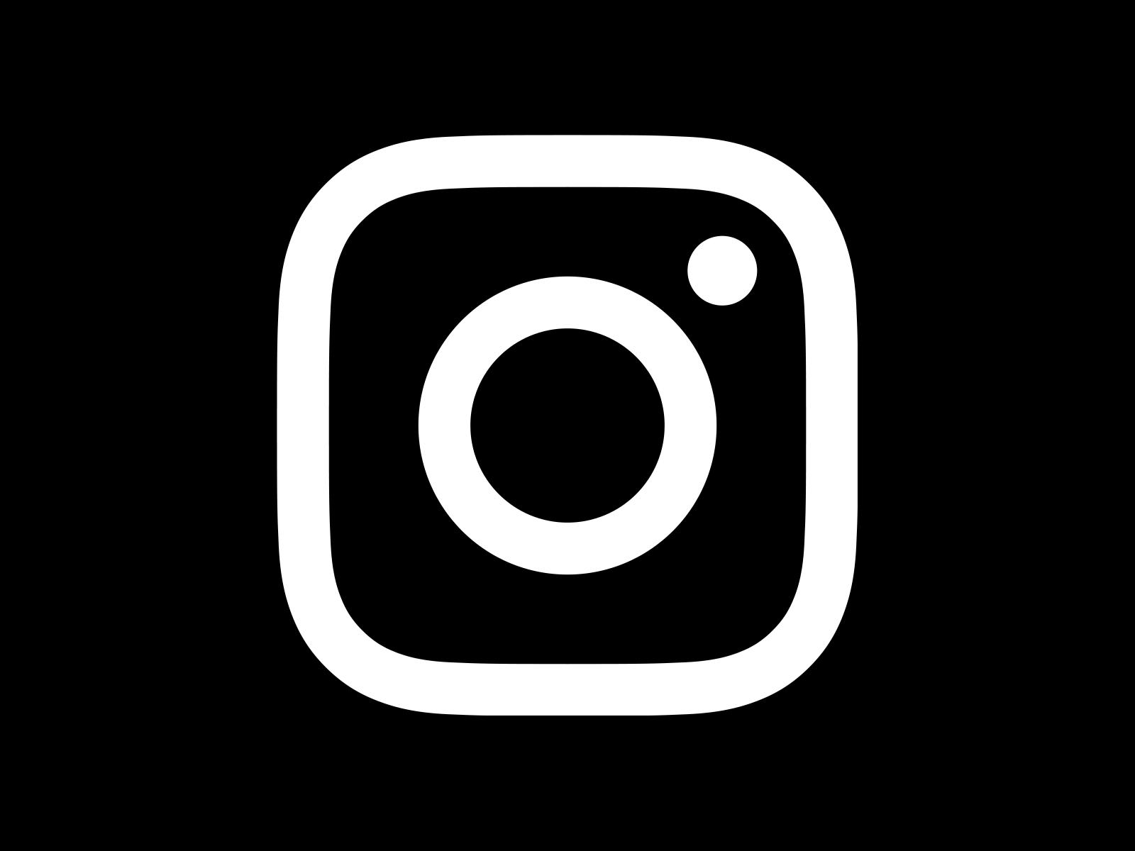 Image result for black and white instagram logo