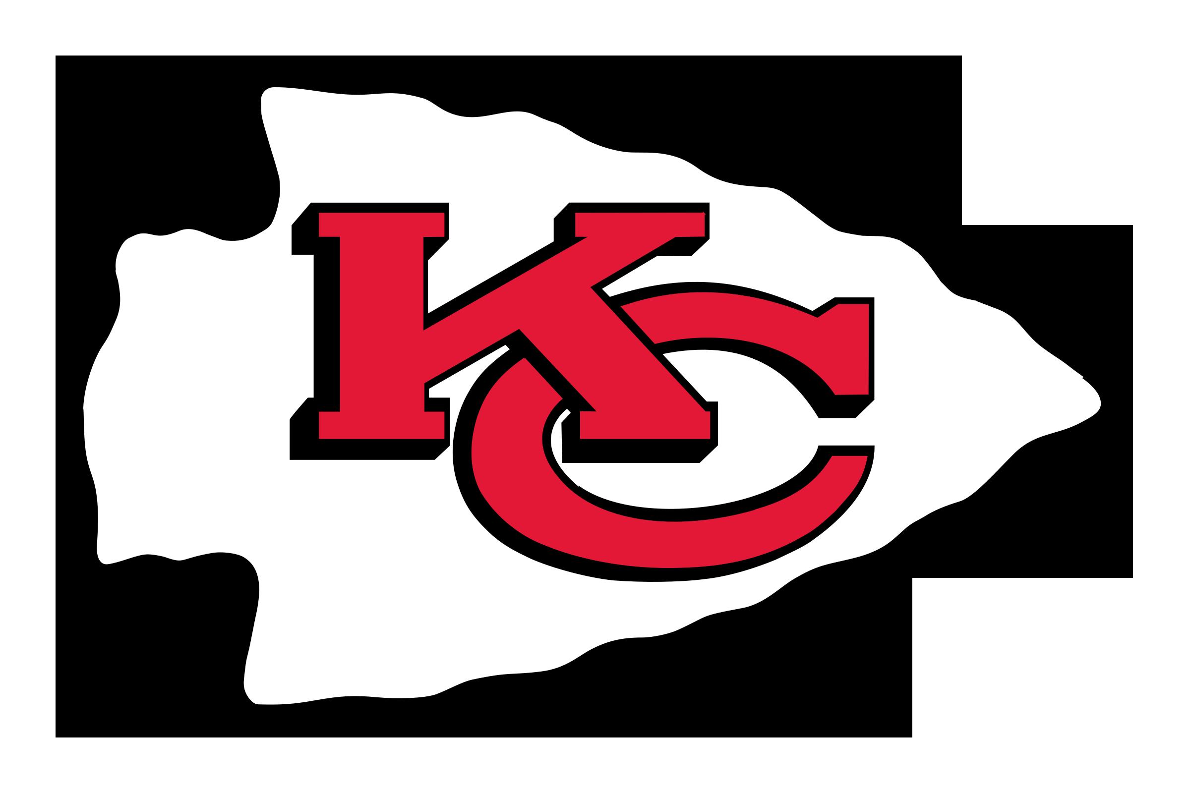 Red Arrowhead Logo Kansas City Chiefs Log...