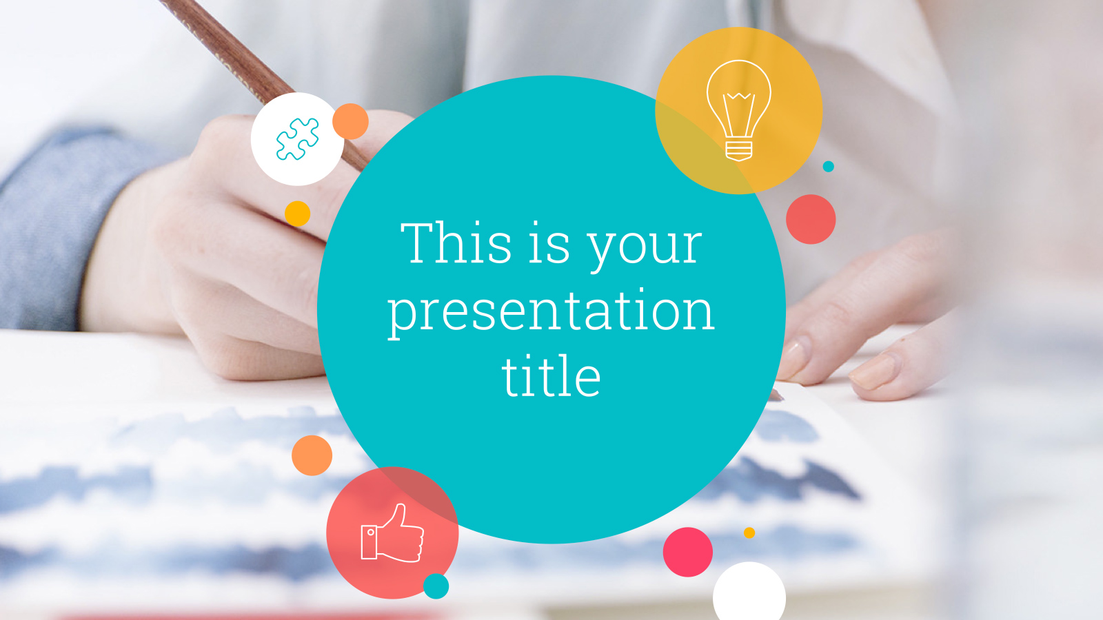 kent free powerpoint template google slides theme