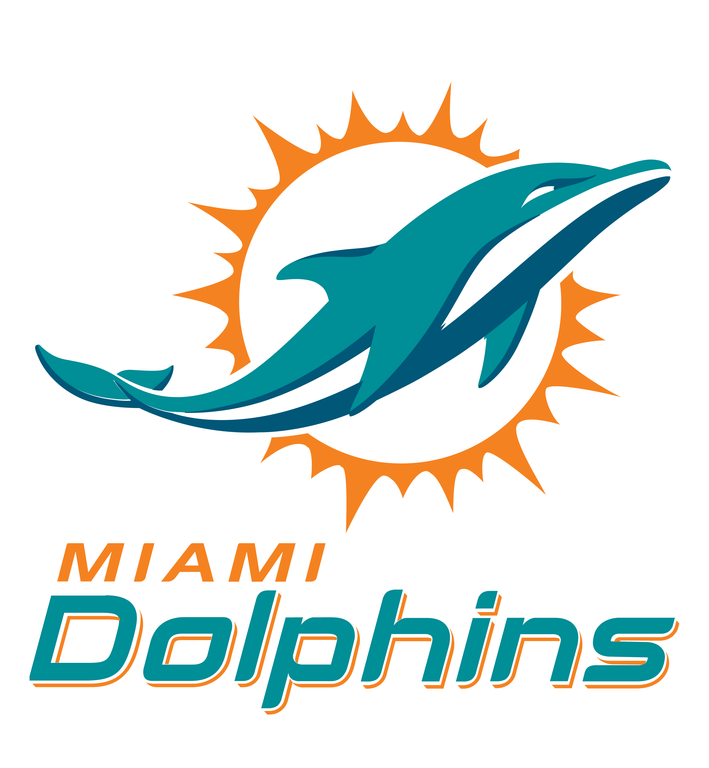 Image result for miami dolphins logo