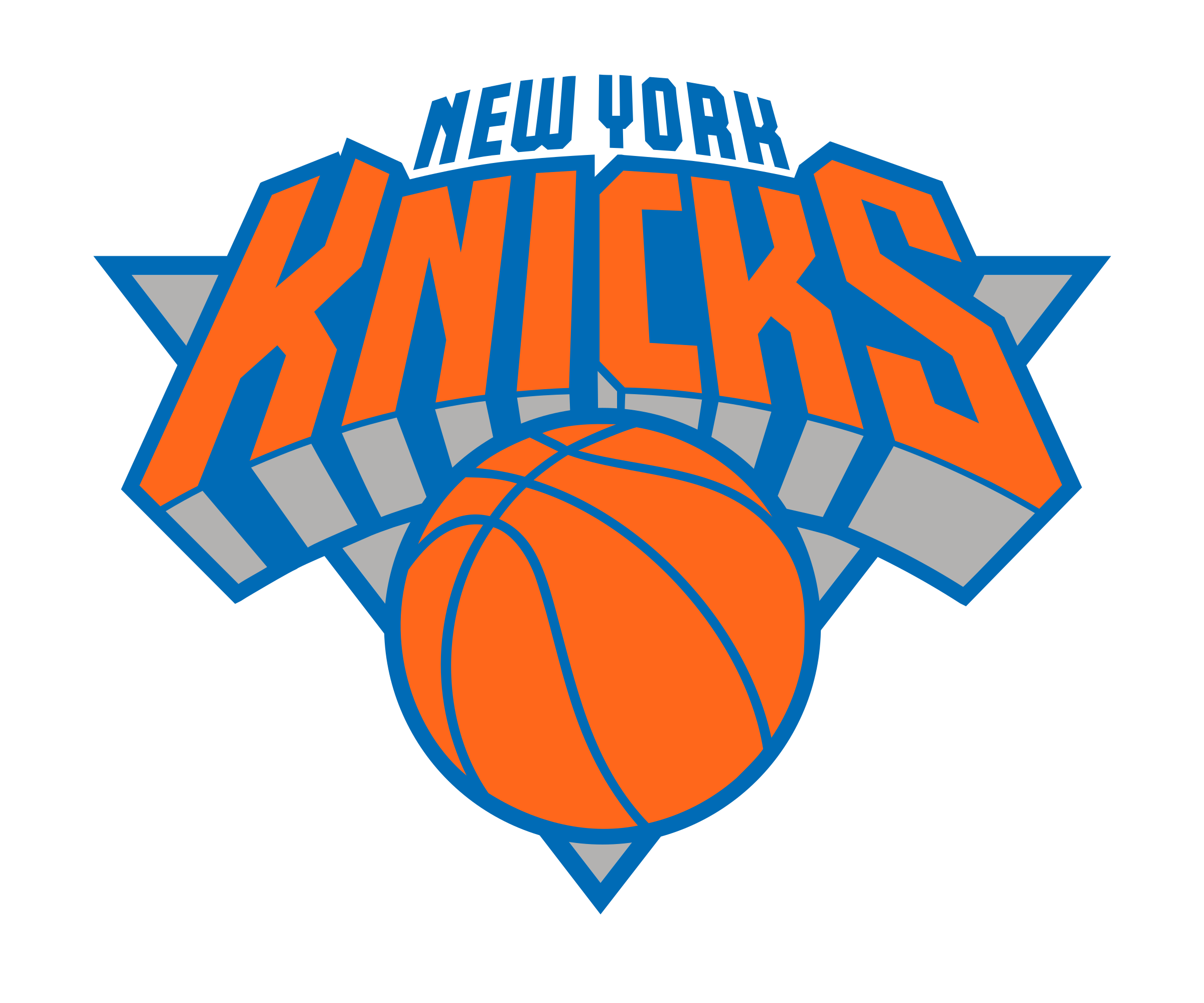 New York Knicks Logo PNG Transparent & SVG Vector