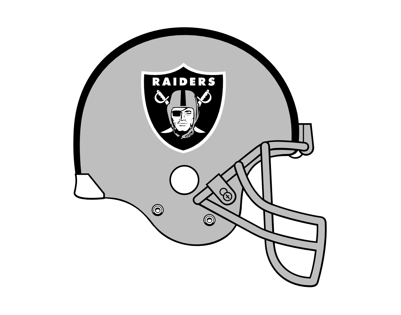Raiders logo outline oakland raiders logo coloring pages for Oakland raiders logo coloring page