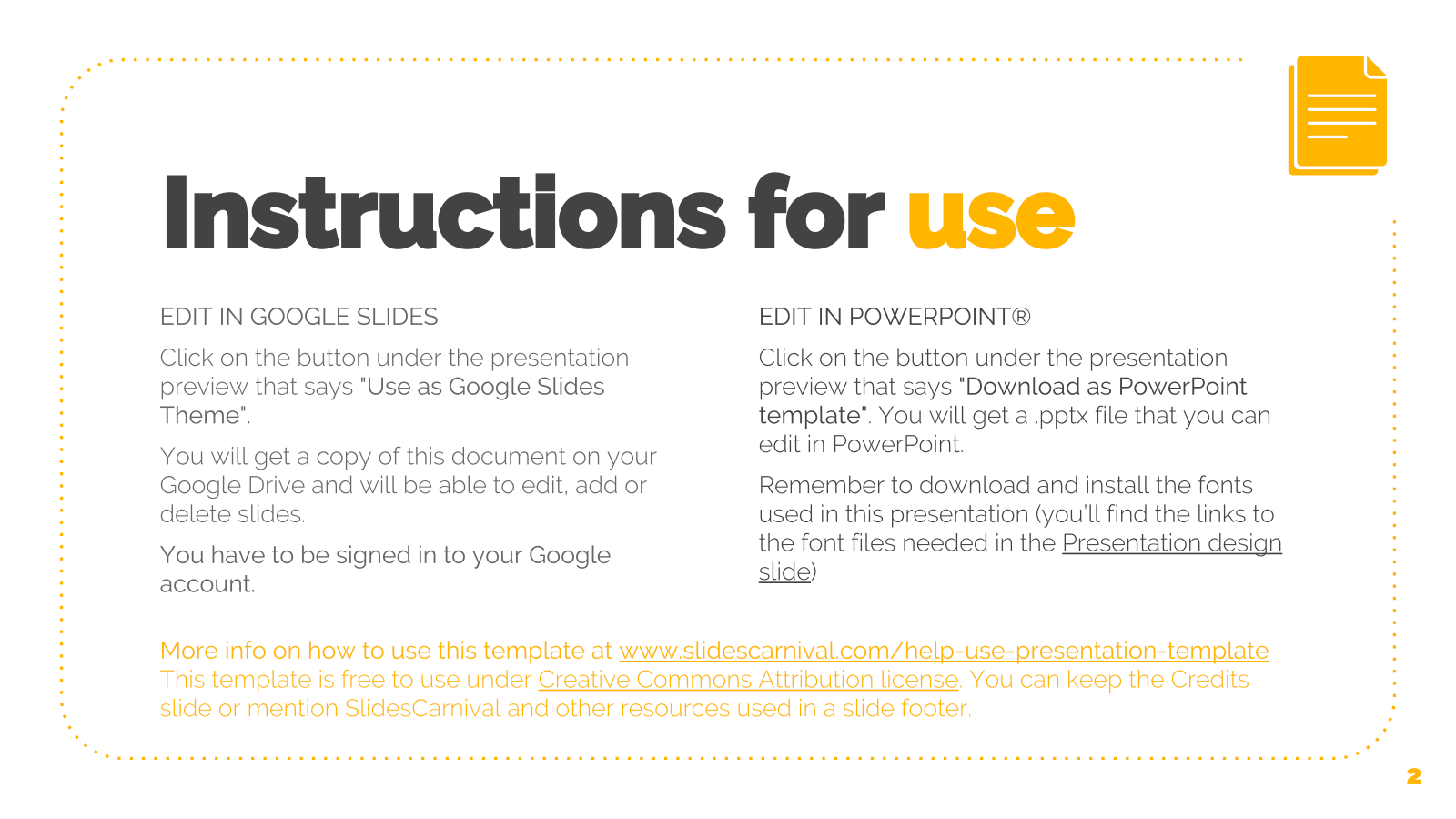 olivia free powerpoint template google slides theme freebie supply