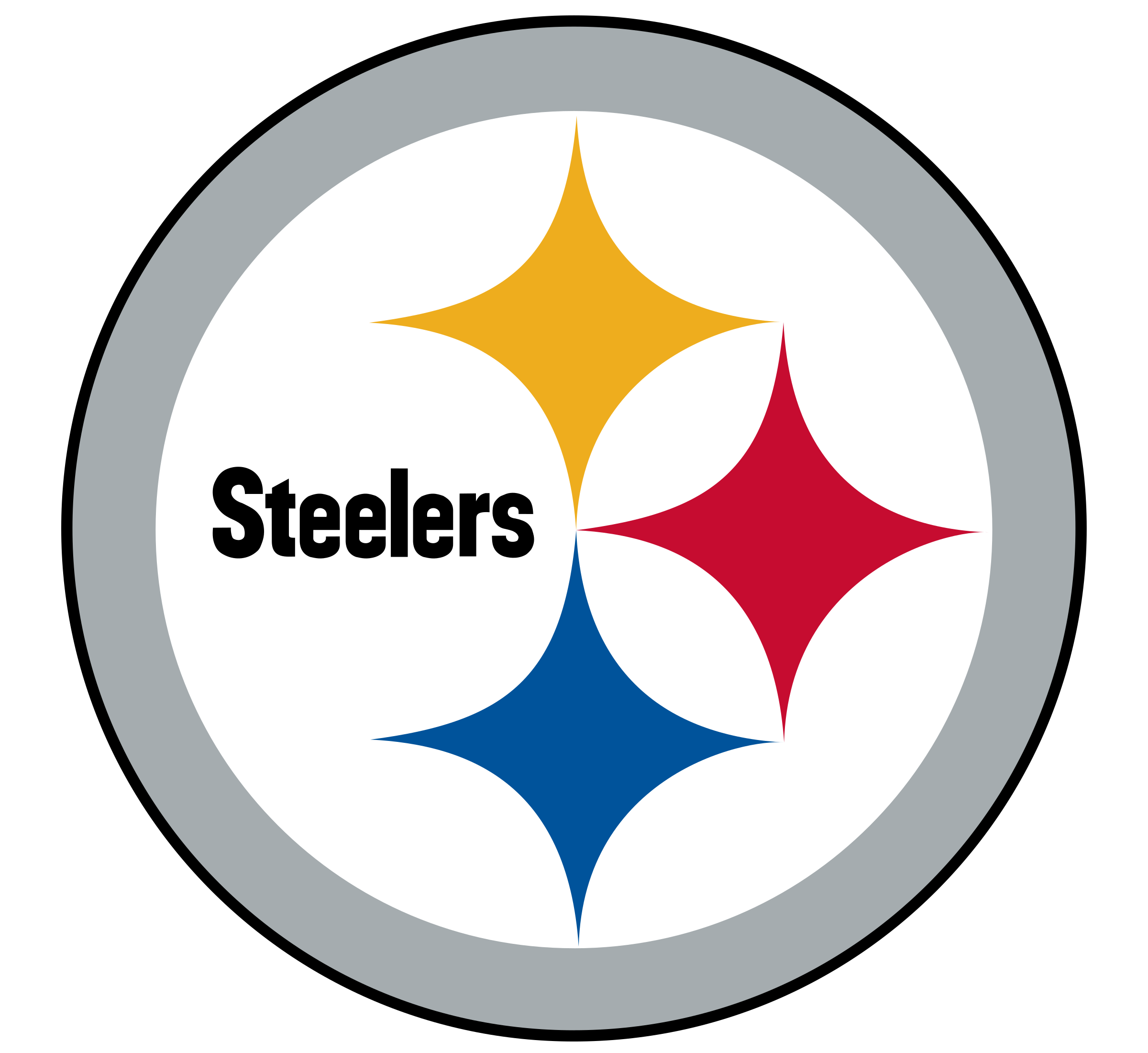 pittsburgh steelers logo png transparent svg vector freebie supply rh freebiesupply com steelers logos pictures steelers logos pics