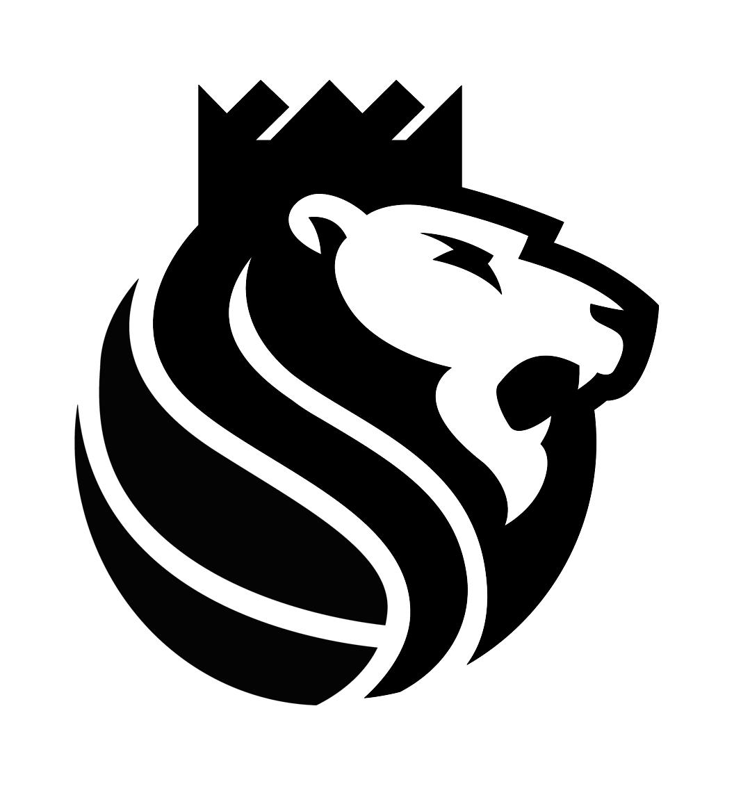 Basketball logo design black and white