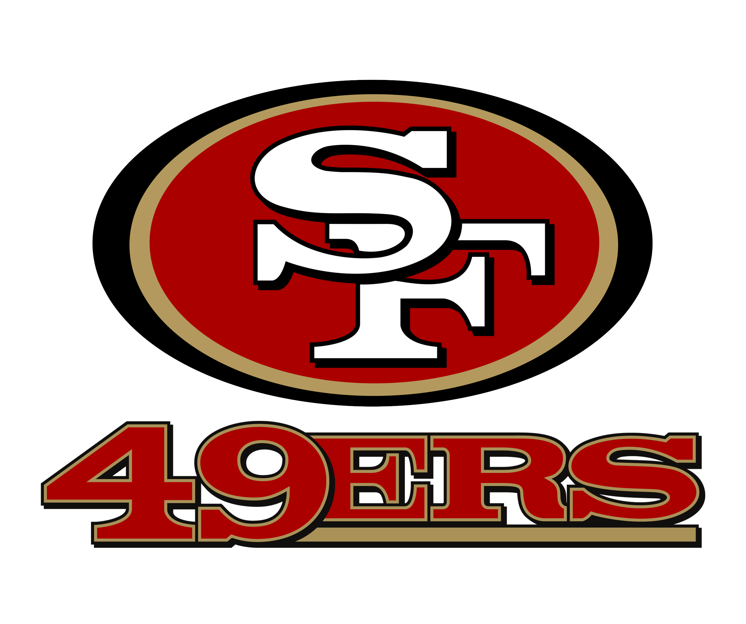 san francisco 49ers logo png transparent svg vector freebie supply rh freebiesupply com Dragon Logo Vector 49ers logo vector free