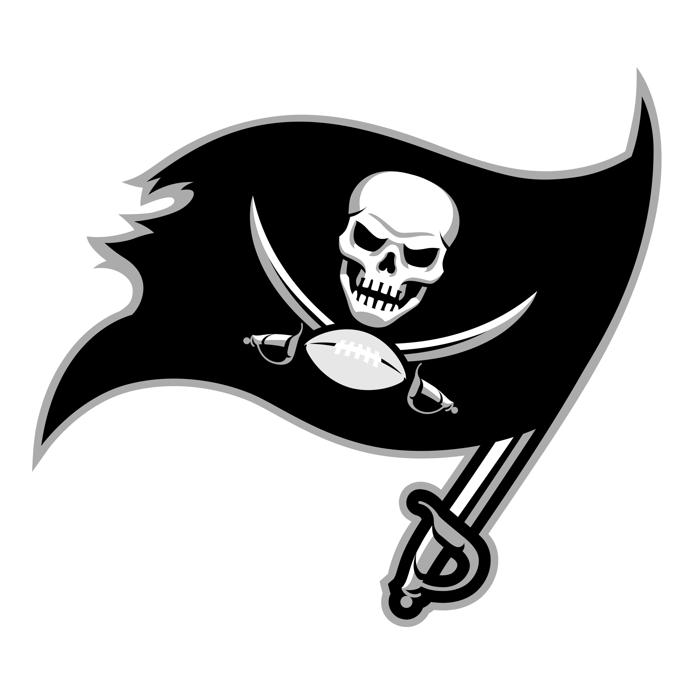 Tampa Bay Buccaneers: Tampa Bay Buccaneers Logo PNG Transparent & SVG Vector