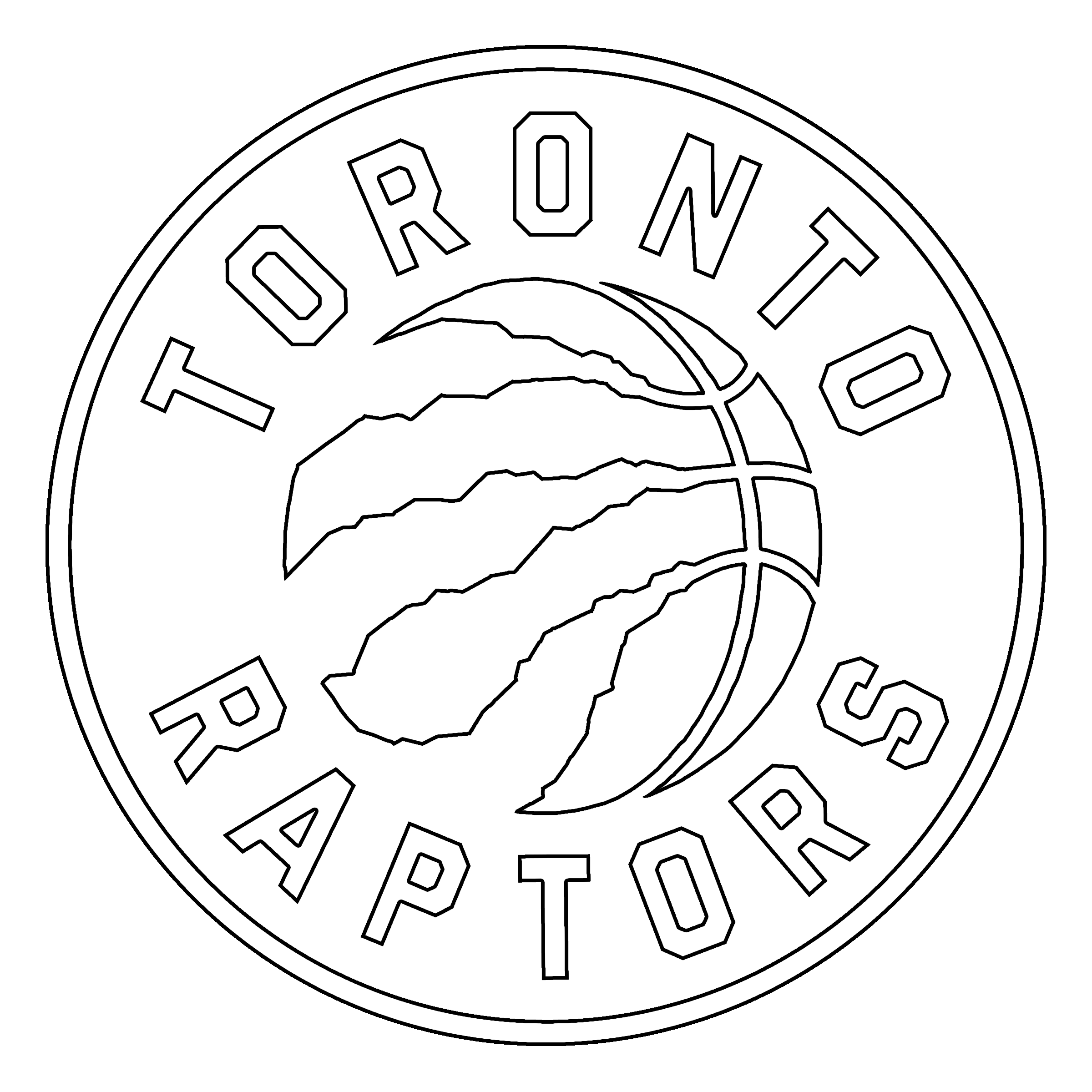 Toronto Raptors Logo Transparent Svg Vector