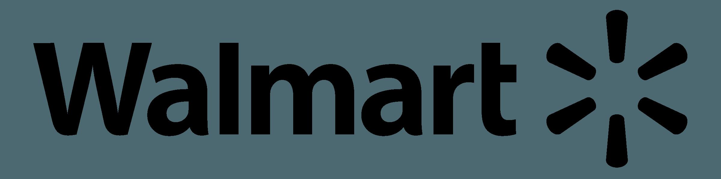 Walmart Logo Black White