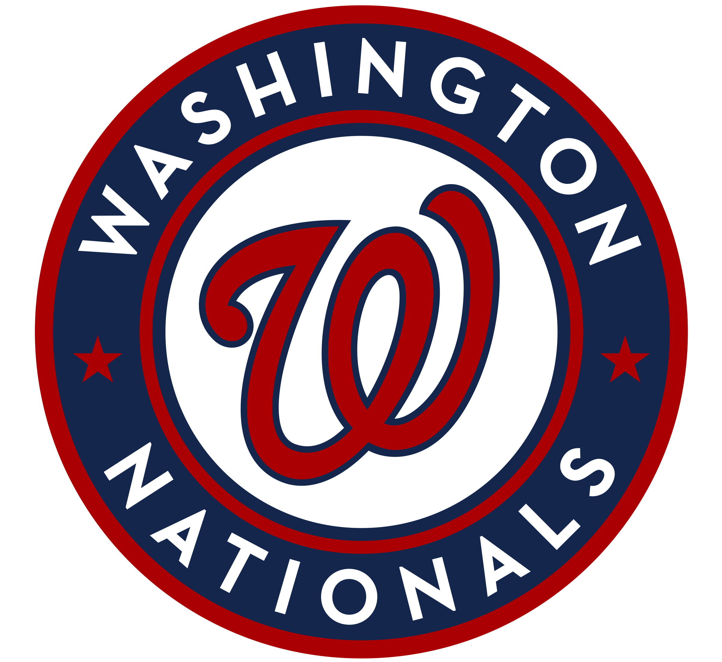 Image result for washington nationals logo