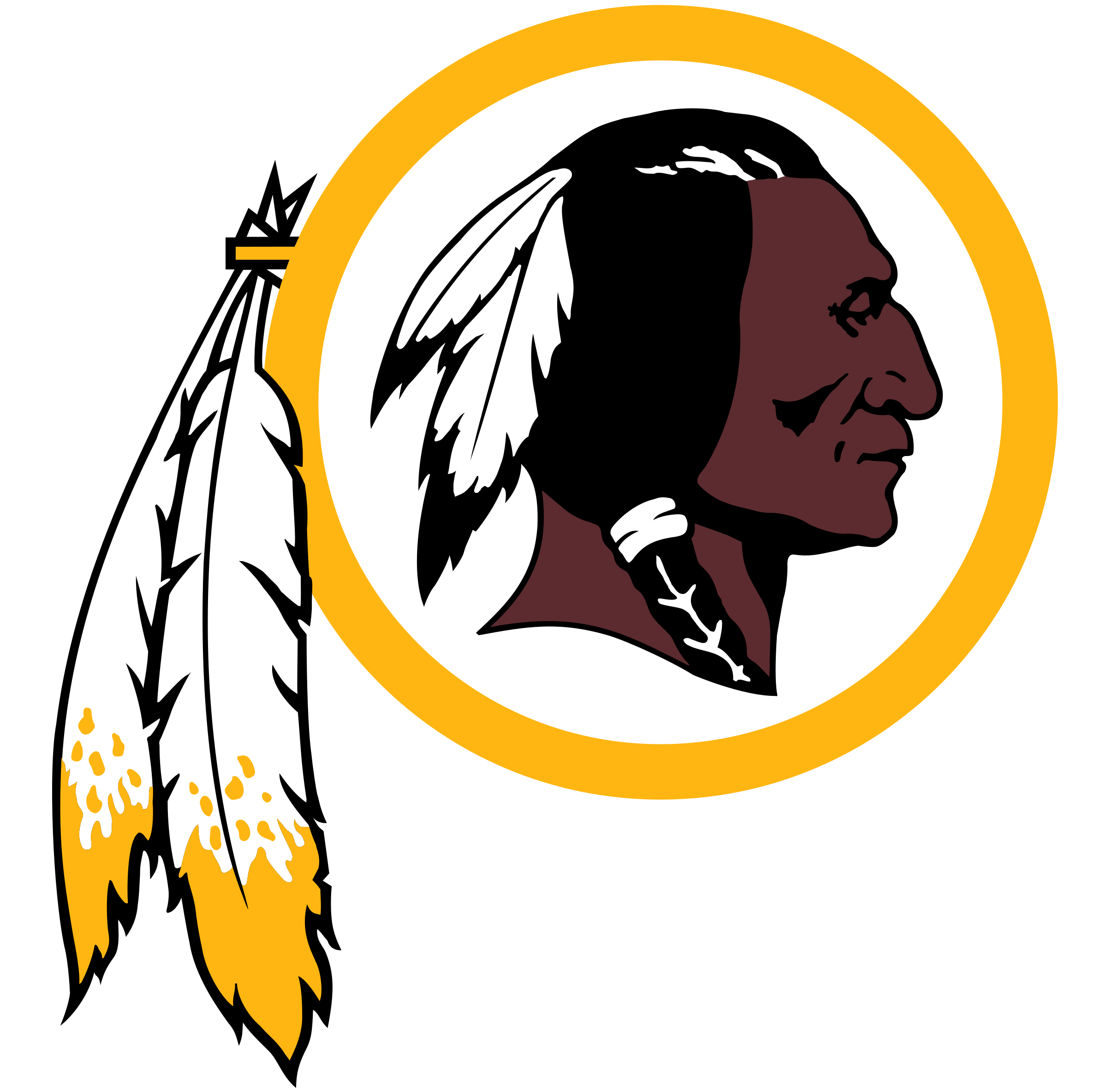 Image result for washington redskins logo