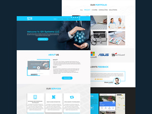 Free psd website templates freebie supply business website template free psd pronofoot35fo Choice Image